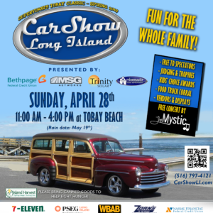 Saladino Announces Car Show Long Island TOBAY Spring Classic on April 28th