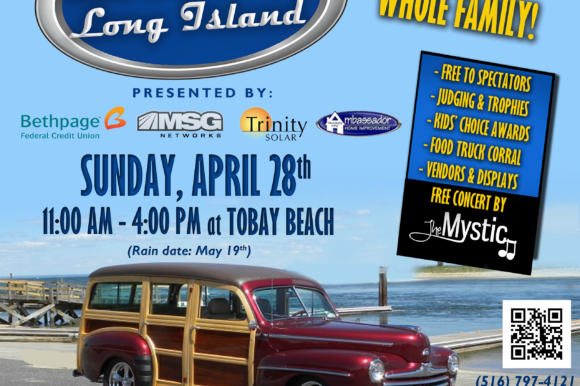 Saladino Announces Car Show Long Island TOBAY Spring Classic on April 28th