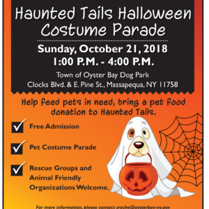 Saladino Announces 1st Haunted Tails Halloween Costume Parade