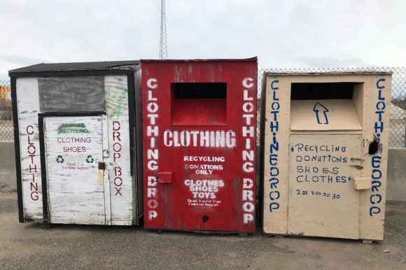 Saladino Cautions Residents of Scam Donation Bins