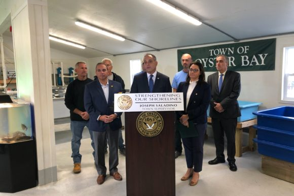 Town Opens New Hatchery to Improve Water Quality Boost Local Shellfish Population