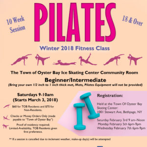 Councilwoman Michele Johnson Announces Registration Dates for Upcoming Pilates Class