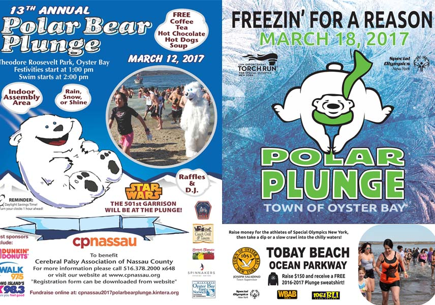 Supervisor Joseph Saladino Supports Two Benefit Polar Plunges in March
