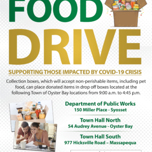 Town Partners with LI Cares to Host Local Food Drive