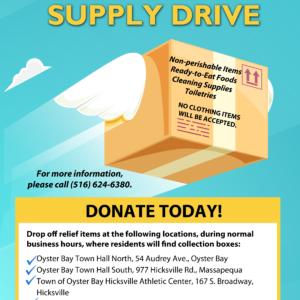 Saladino, Hand, & Pravato Announce Hurricane Florence Supply Drive
