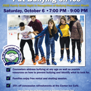 Saladino, Alesia Announce Put Bullying on Ice Awareness Night at Ice Skating Center