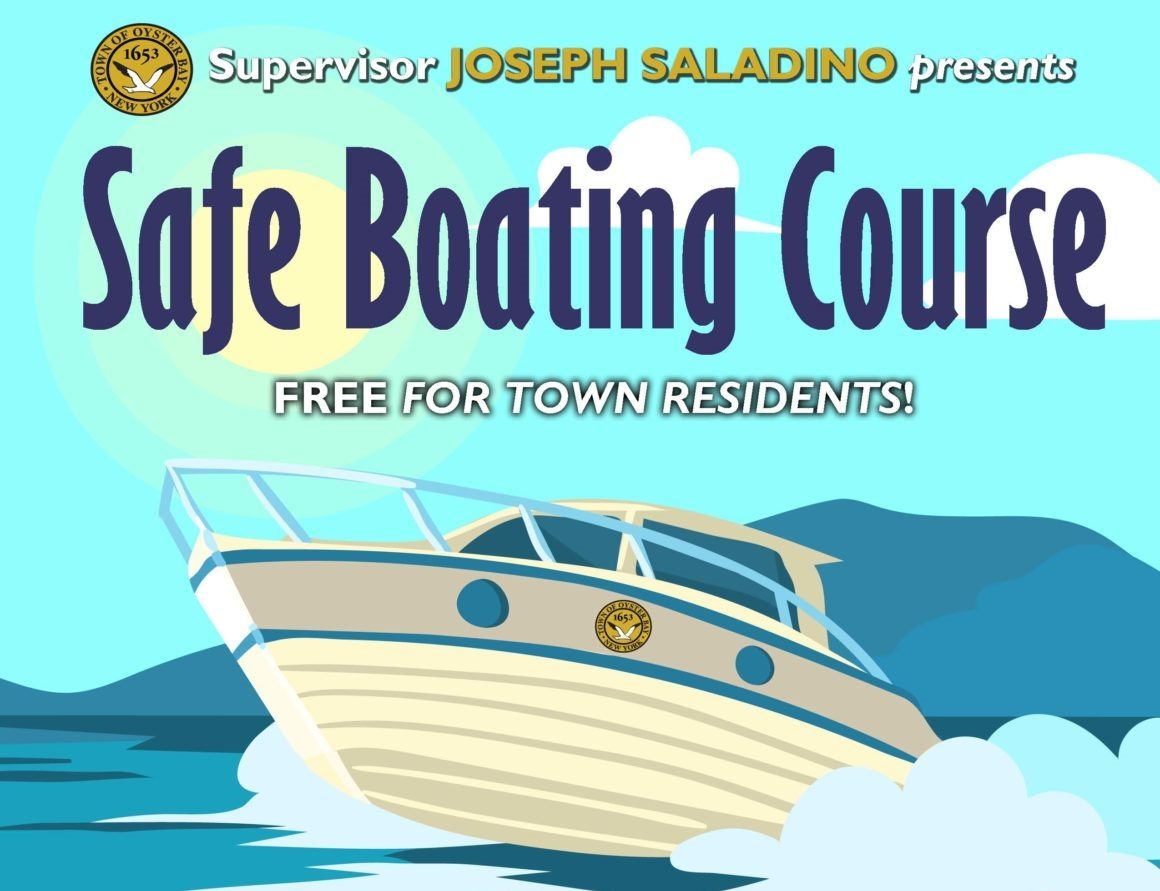 Saladino and Johnson Offer Additional  Free Boating Safety Seminar