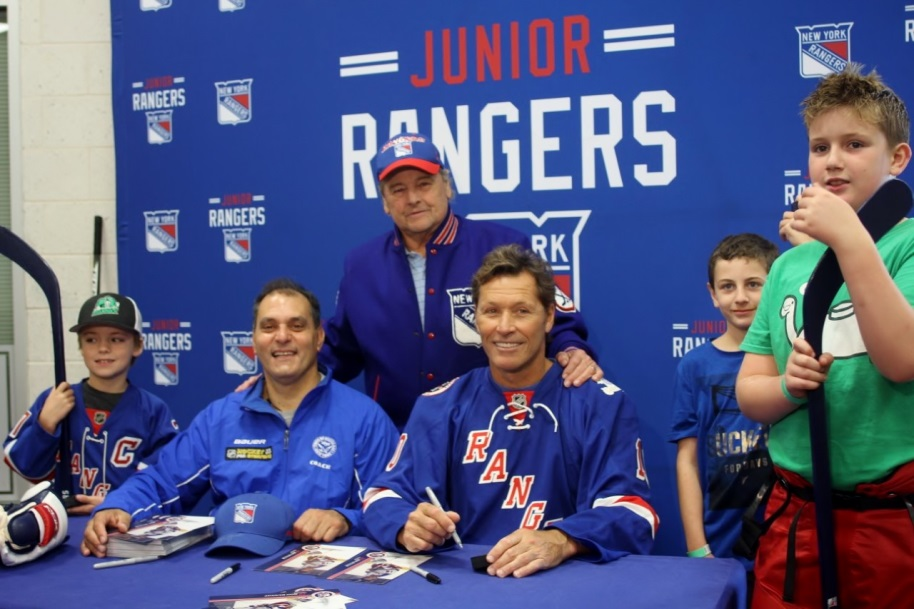 """Try Hockey for Free"" Program Offered by the New York Rangers"