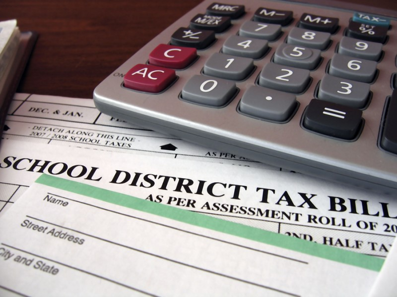 Stefanich Encourages Residents to Pay April 2018 School Taxes by December 31st