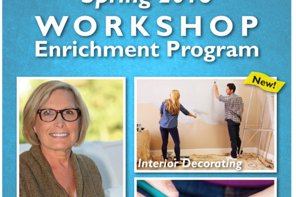 Saladino, Muscarella Announce Interior Decorating, Art, Jewelry-Making & Zumba Classes Offered by Town