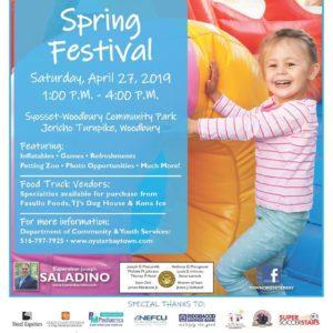 Saladino Announces Free Family-Fun Spring Festival