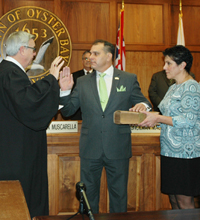 Town of Oyster Bay Welcomes New Town Supervisor Joseph S. Saladino