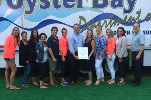SALADINO, JOHNSON HONOR MOMS GROUP TEAM YOLO FOR THEIR SUPPORT OF THE MORGAN CENTER