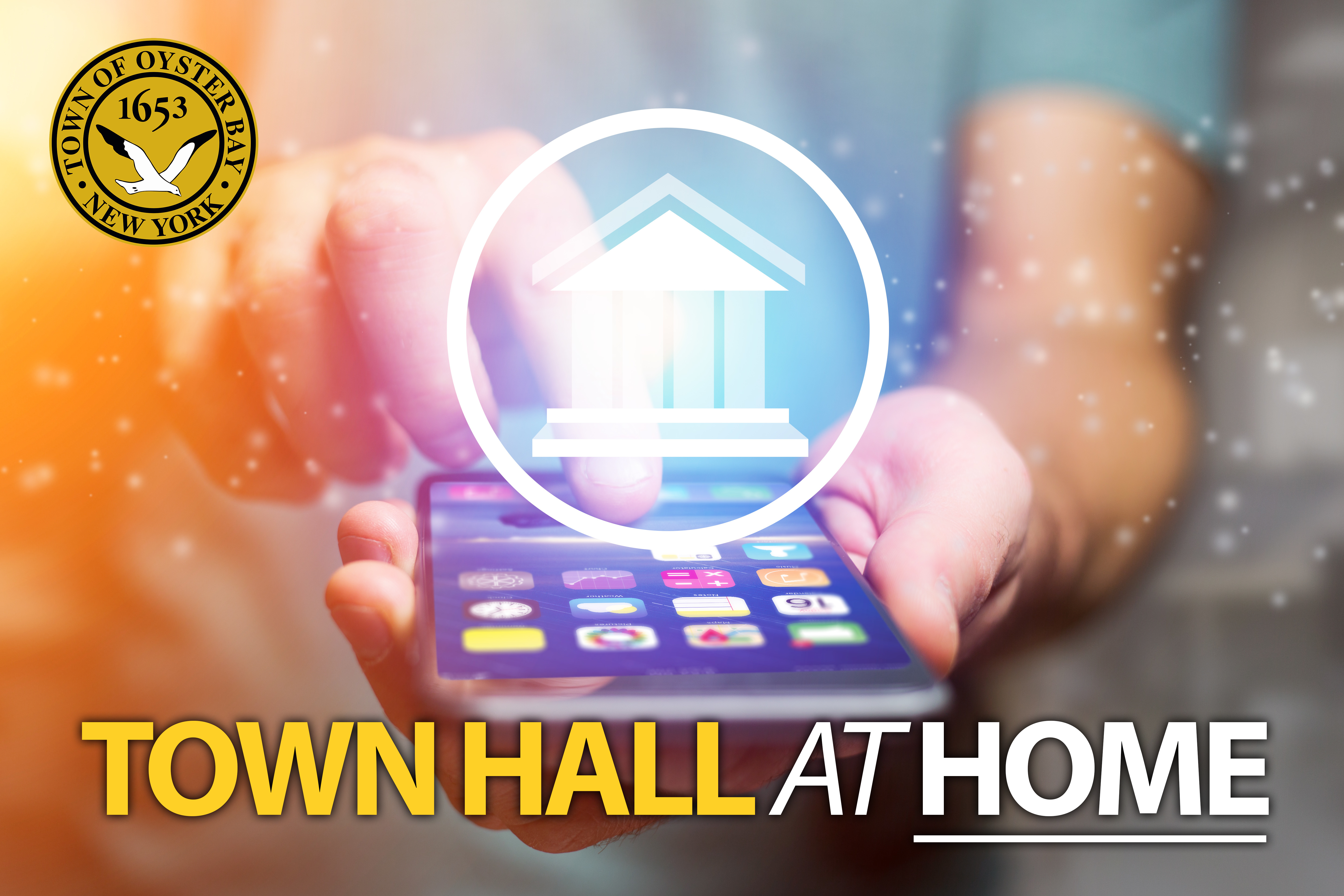 Town Hall at Home