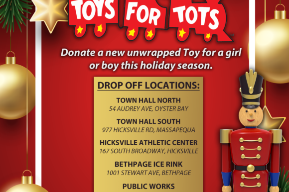 Town Kicks Off Massive Toys for Tots Collection Drive Helping Families Impacted by COVID Pandemic