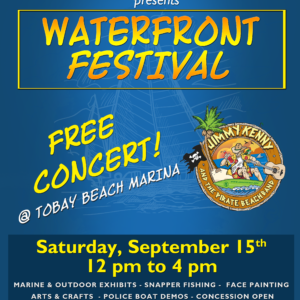Saladino Announces Free Family-Fun Waterfront Festival at TOBAY Marina