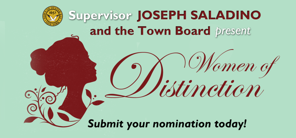 Town Accepting Nominations for Women of Distinction Program