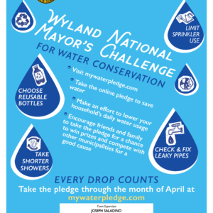 Town Invites Residents to 'Commit to Conserve' in Wyland Water Conservation Challenge