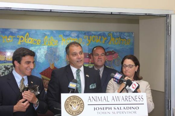 SALADINO, JOHNSON ANNOUNCE FREE ADOPTIONS AT TOWN ANIMAL SHELTER