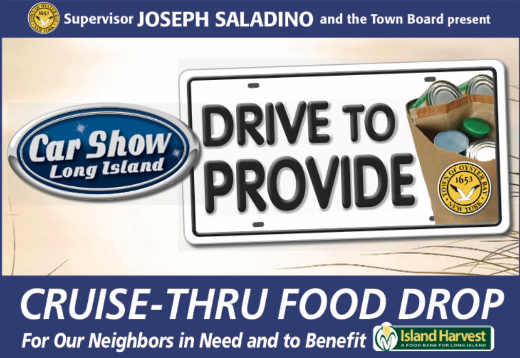 Saladino Announces 2nd Cruise Thru Food Drop Collection Drive for July 11th