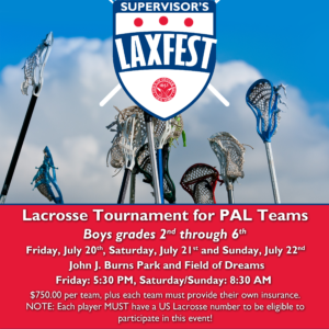 Saladino: Registration Underway for LAXFEST Lacrosse Tournament